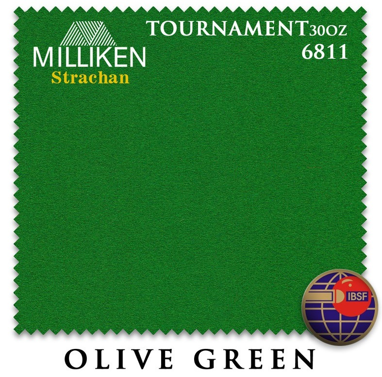Сукно  Milliken Strachan Snooker 6811 Tournament 30oz